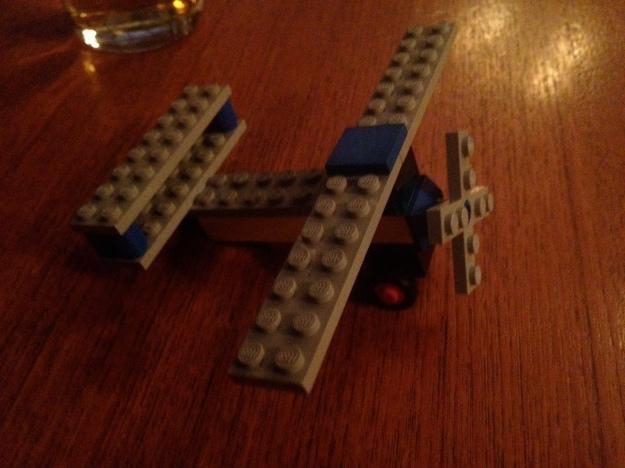 Biplane take 10