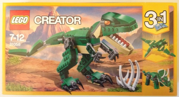 Mighty Dinosaurs 31058 box front