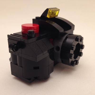 A camera for S, mad of Lego. November 2017