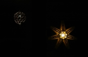 20190202 Star with light and IKEA lamp - cropped