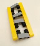 Lego, Fixed connection between two strips, maximum twist