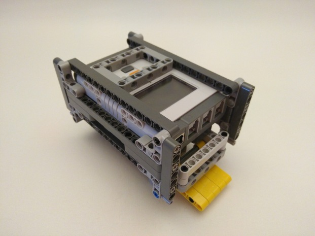 Lego, MOC, Mindstorms NXT 2 quick release, box with NXT 2 brick