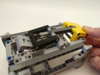 Lego, MOC, Mindstorms NXT 2 quick release, trigger pulled