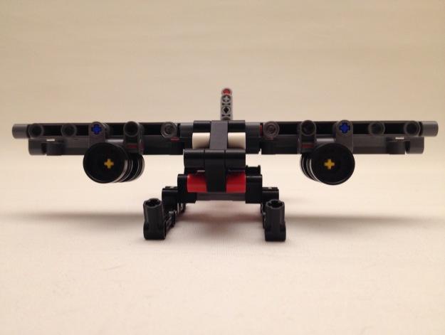 Lego twinjet floatplane